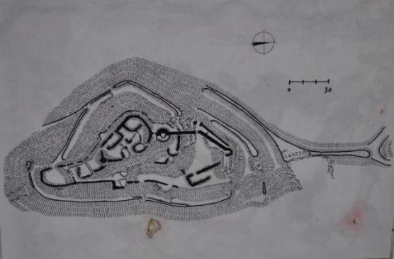 Plánek hradu